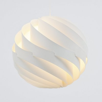Louis Weisdorf Turbo pendant lamp by Lyfa Denmark, 1965