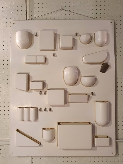 Uten Silo I Wall Organizer by Dorothee Becker for Design M, 1969