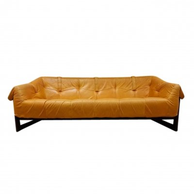 Brazilian MP-091 3-seater sofa by Percival Lafer for Lafer S.A., 1960s