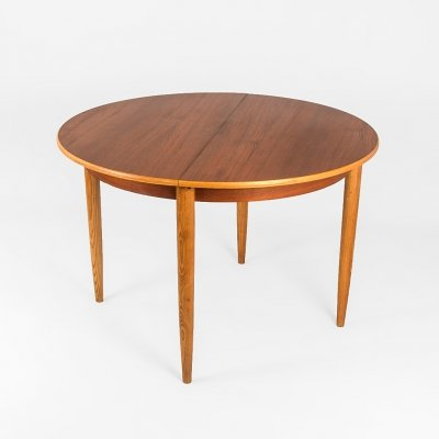 Danish extendable dining table by Niels Otto Møller for Møller Models, Denmark 1960's
