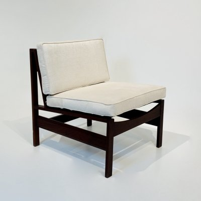 Armchair in Wood, Italy 1960s