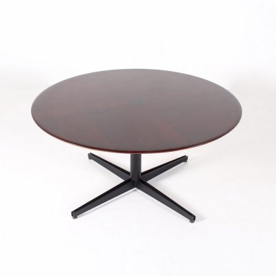Adjustable Rosewood table by Osvaldo Borsani for Tecno, 1950's