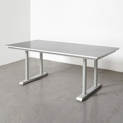 Gispen Industrial XL Dining Table, 1950s