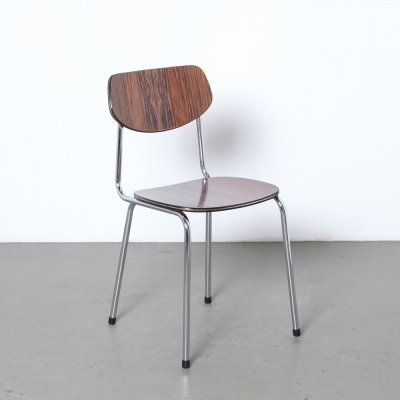 Tavo chair in faux rosewood formica