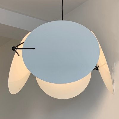 2 x Monet 460 hanging lamp by Vico Magistretti for Oluce, 1980s