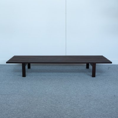 Spectrum slat bench designed by Martin Visser