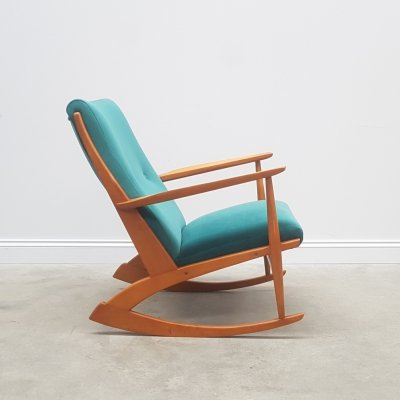 Danish Rocking Chair Model 97 by Søren Georg Jensen for Tønder Møbel