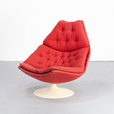 60s Geoffrey Harcourt F588 lounge fauteuil for Artifort