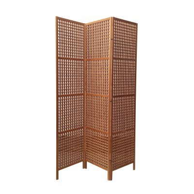 Scandinavian Folding Screen in Pine Wood, 1960s
