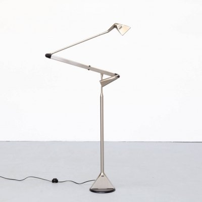 90s Walter Monici 'Zelig Terra' floorlamp for Lumina