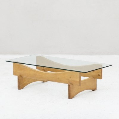 Sculptural coffee table, 1970s
