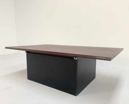 Hiddenbar coffee table by Pierre Vandel, 1980s