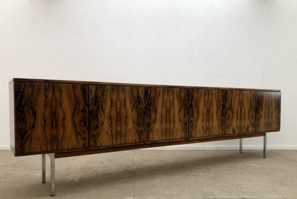 Large vintage rosewood sideboard, Germany 1960s