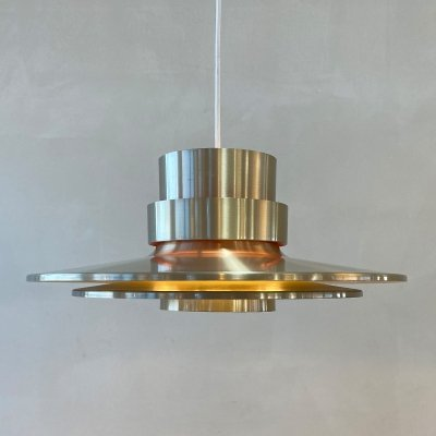 Light brass coloured hanging lamp by Carl Thore for Granhaga, 1960s