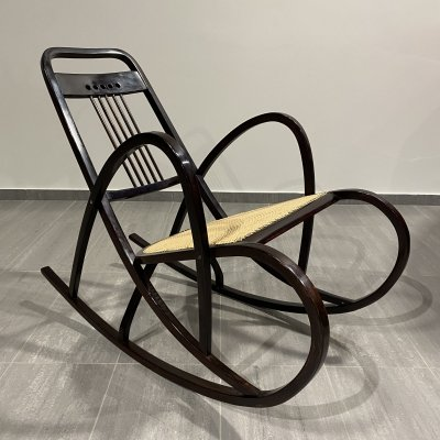 Secession rocking chair no.511 by Marcel Kammerer for Thonet