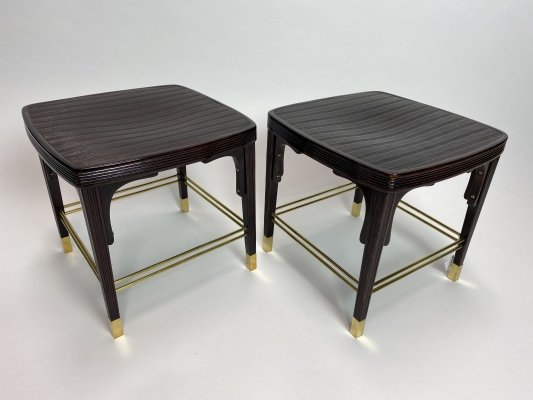 Very rare stools no.412 by Otto Wagner for Jacob Josef Kohn