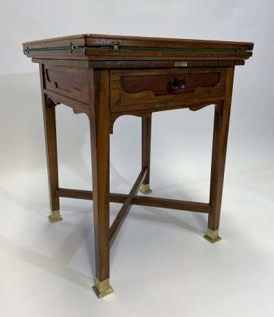 Secession playing table, 1920s