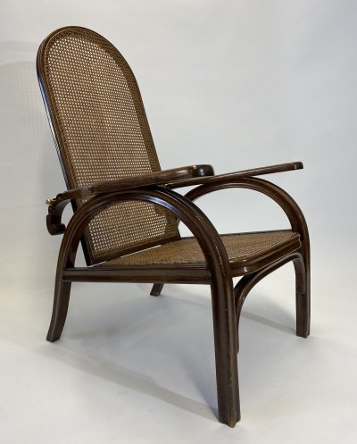 Morris adjustable arm chair no.6392 by Otto Prutscher for Thonet Austria