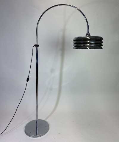 Vintage floor lamp by Tamás Borsfay for Hungarian Craftsmanship Company