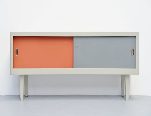 Ahrend industrial sideboard, Holland 1960