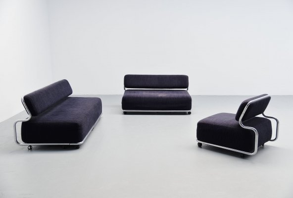 Kwok Hoi Chan sofa set by 't Spectrum, Holland 1973