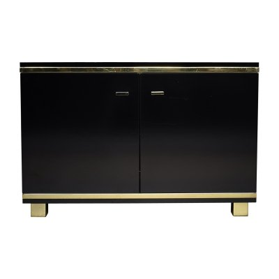 Credenza with brass details, Italy circa 1970