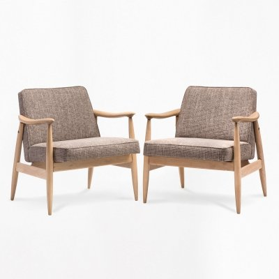 Pair of type 300-203 GFM-87 armchairs, 1960s