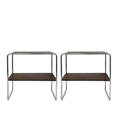 Pair of Model B12 Console Tables by Marcel Breuer, 1950s
