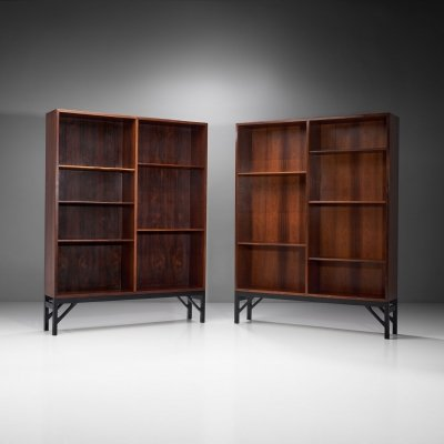 Two Bookcases by Børge Mogensen for C. M. Madsen, Denmark 1950s
