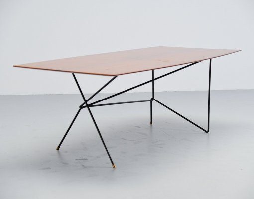Daniele Calabi writing desk table, Italy 1950