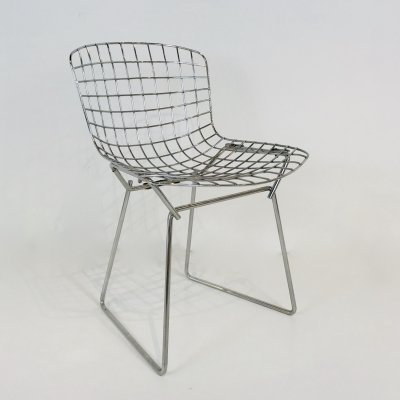 Wire lounge chair by Harry Bertoia for Knoll, 1960s