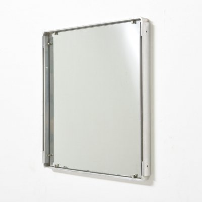 Vintage Mirror in Stainless Steel, 1960's
