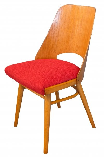 Mid-Century Dining Chair no.514 by Radomir Hofman for TON