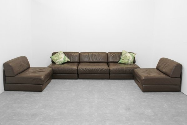 De Sede DS76 modular sleeping sofas