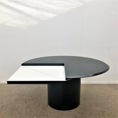Quadrondo dining table by Erwin Nagel for Rosenthal, 1980s