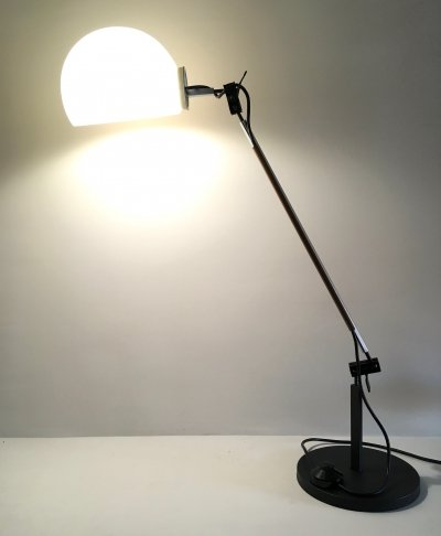 Aggregato desk lamp by Enzo Mari & Giancarlo Fassina for Artemide, 1970s