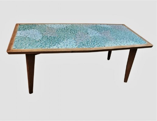Mosaic Couch Table, 1960's