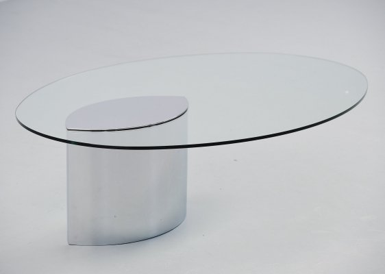 Cini Boeri Lunario coffee table by Gavina, Italy 1970