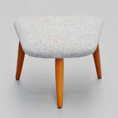 Nanna Ditzel nursing chair / footstool, Denmark 1956