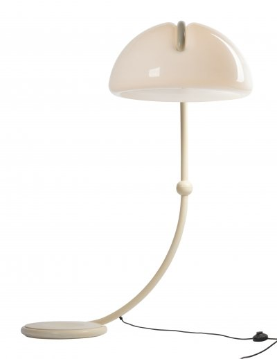 Martinelli Luce model Serpente floor lamp by Elio Martinelli