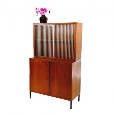 Simpla Lux cabinet with showcase, 1960s
