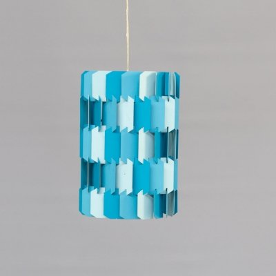 70s Louis Weisdorf 'Facet pop' hanging lamp for Lyfa