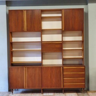Vintage design wall unit, 1960s