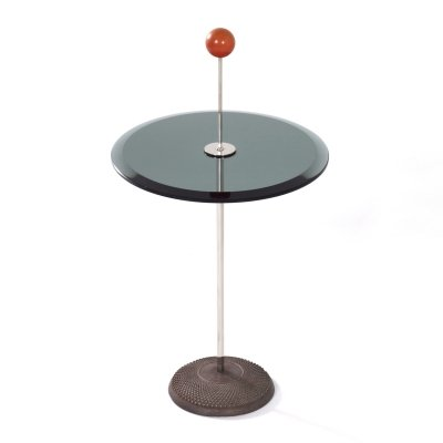 Orio Side table by Pierluigi Cerri for Fontana Arte, 1980s