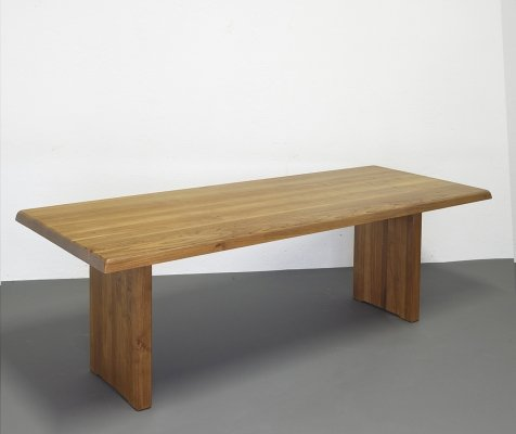T14D dining table by Pierre Chapo, 1970s