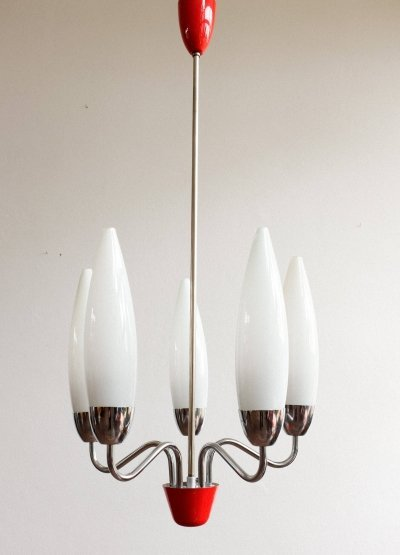 Hanging lamp by Josef Hůrka for Napako, 1960s