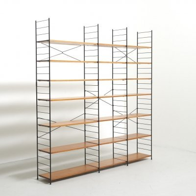 Freestanding Shelving System in Teak by WHB, Germany 1960's