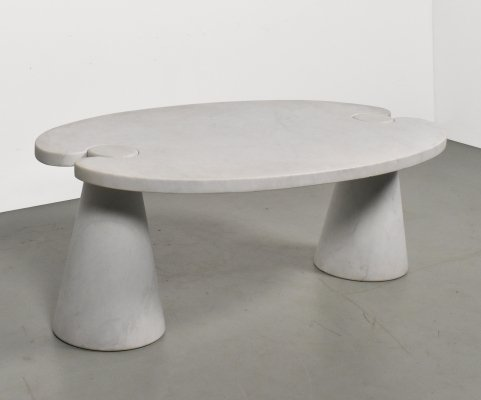 Coffee table by Angelo Mangiarotti for Skipper Italy, 1980s
