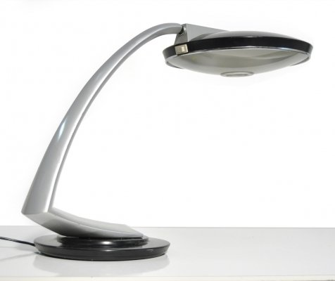 Boomerang 2000 Desk lamp by Luis de Perez de la Oliva for Fase Madrid, Spain
