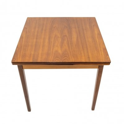 Small extendable dining table in teak by Cees Braakman for Pastoe, 1950s